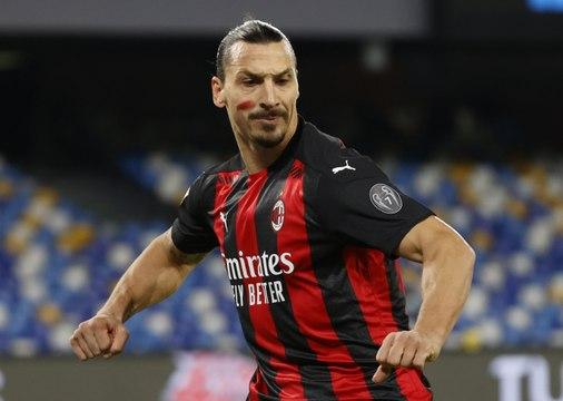 AC Milan : Après la tête, le genou pour Zlatan Ibrahimovic !