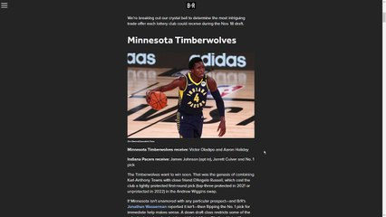 Bleacher Report Trades The 1st Pick for Victor Oladipo