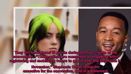 John Legend, Billie Eilish, and more set to perform at 2020 DNC - YouTube