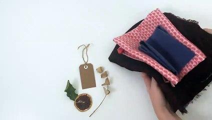 Tuto #emballage cadeau en mode Furoshiki