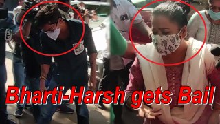 Durgs Case | Bharti-Harsh gets bail