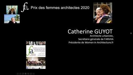 Interview de Denis Dessus à l'occasion des Prix Femmes Architecte édition 2020