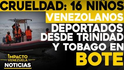 ¡CRUELDAD! 16 niños venezolanos deportados     NOTICIAS VENEZUELA HOY noviembre 23 2020