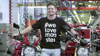 Casey Stoner visita la sede de Ducati