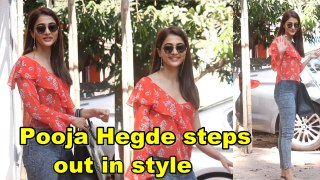 Pooja Hegde steps out in style