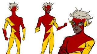Una versión no binaria de Flash se unirá a la Liga de la Justicia