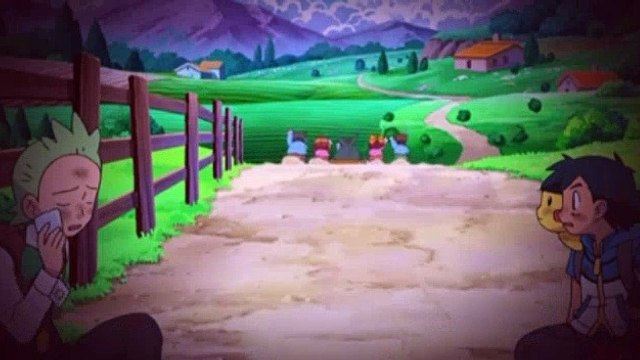 Pokemon S14E12 The Yabukuron Squadron And The Secret Base!