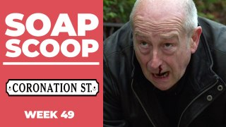 Coronation Street Soap Scoop! Geoff attacked in trial week