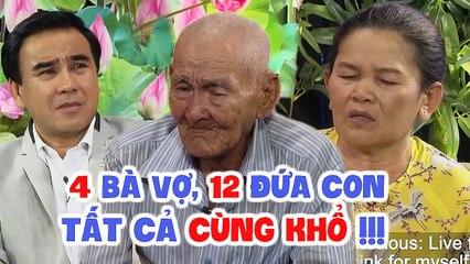 Chấp nhận LÀM VỢ 4 nuôi CHỒNG MÙ 100 TUỔI, bà cụ U60 bật khóc vì TẤT CẢ CÙNG KHỔ