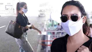 Bollywood Actress Neha Sharma Spotted at aiport | FilmiBeat
