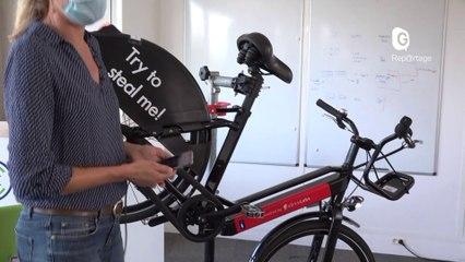 Reportage - Des vélos électriques connectés et (presque) impossibles à voler ! - Reportage - TéléGrenoble