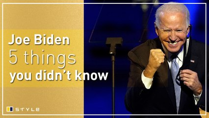 5 things you didn't know about Joe Biden