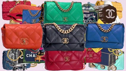 The Chanel 19 bag as seen by Roman and Sofia Coppola