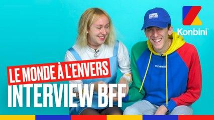 Le Monde à l'Envers : Jenny et Valentin testent leur amitié l Interview BFF