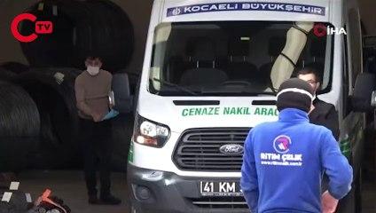 Kocaeli'de fabrikada üzerine demir düşen işçi öldü