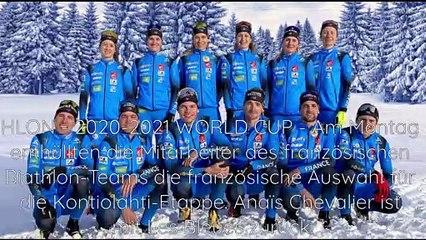 Biathlon - Kontiolahti: Die französische Auswahl enthüllt