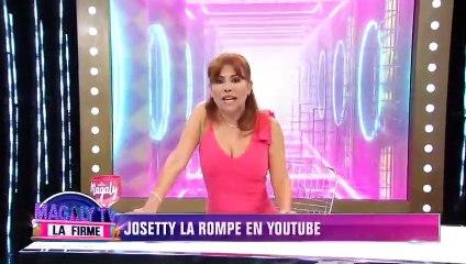 Josetty Hurtado la rompe en Youtube con video donde se transforma en 'Betty, la fea'