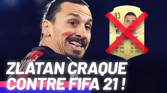 L'énorme coup de gueule de Zlatan Ibrahimovi? contre FIFA 21 et EA Sports ! | Oh My Goal