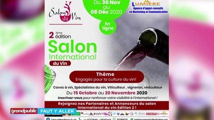 BÉNIN  SALON DU VIN 2.0  LE RENDEZ-VOUS DE L'ANNÉE