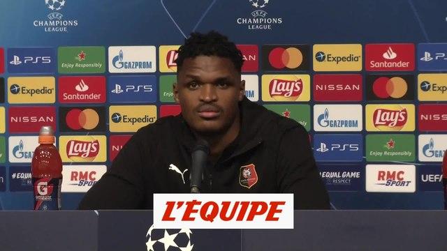 Nyamsi : «On n'a pas à rougir de notre prestation» - Foot - C1 - Rennes