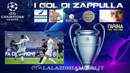 LAZIO, 3-1 ALLO ZENIT - I GOL DI IMMOBILE (2) E PAROLO CON LE URLA DI ZAPPULLA