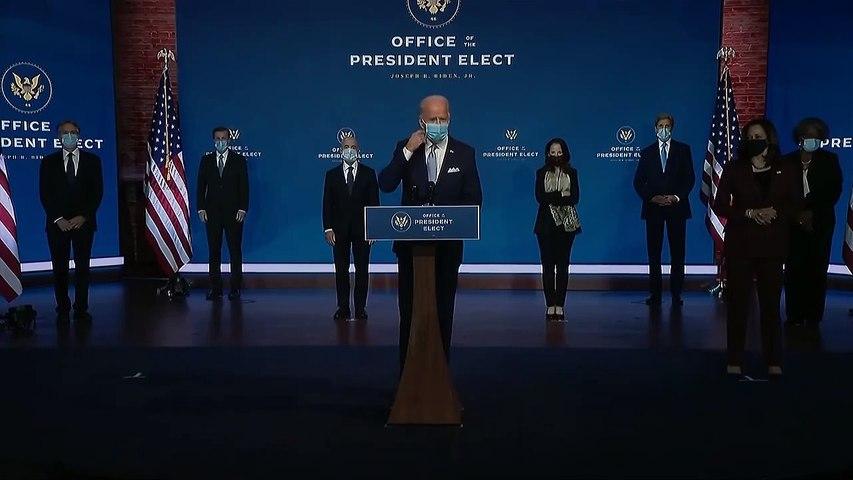 Joe Biden Says 'America Is Back'