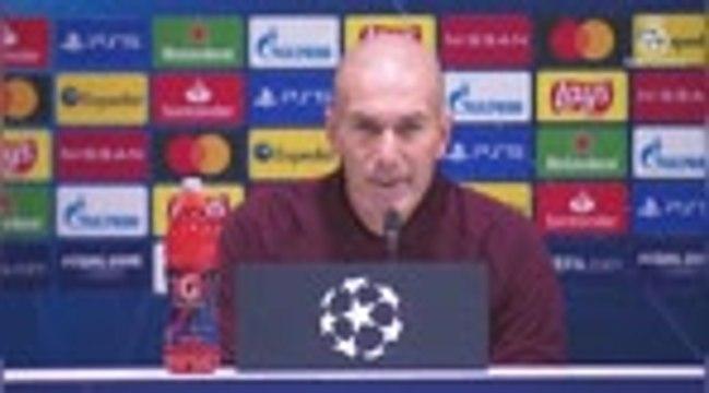 """Groupe B - Zidane : """"Tous les matches sont très importants"""""""