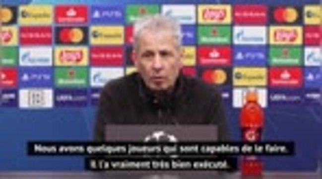 """Groupe F - Favre : """"Le but de Sancho nous a soulagé"""""""