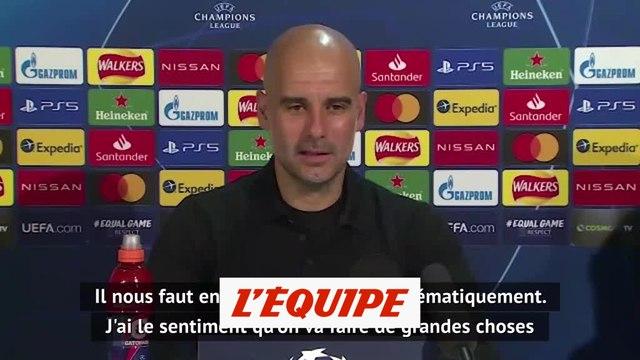 Guardiola : « Nous allons faire de grandes choses cette saison » - Foot - C1 - City
