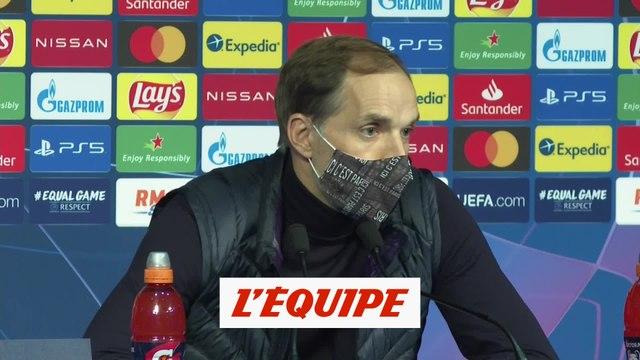 Thomas Tuchel s'énerve en conférence de presse - Foot - C1 - PSG
