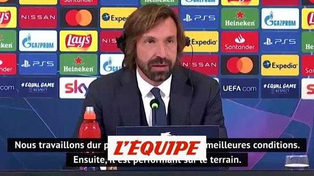 Pirlo : « Morata a besoin de confiance » - Foot - C1 - Juve