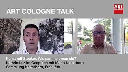 Art Cologne Talk: Mario Kelterborn, Sammlung Kelterborn