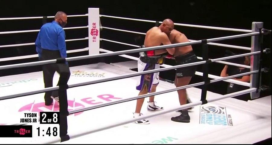 Mike Tyson vs Roy Jones Jr Full Fight