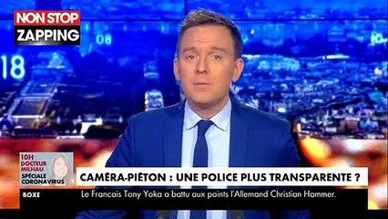 Les policiers bientôt équipés de caméras piétons, la solution au problème des violences policières ? (Vidéo)