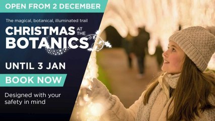 Christmas At The Botanics: Producer  Zoe Bottrell  reveals dazzling 'new route' for 2020