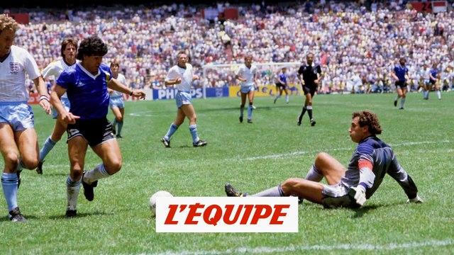 Le Mondial 1986, le chef-d'?uvre de Diego Maradona - Foot - CM