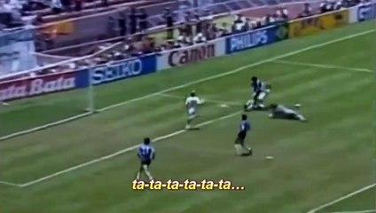 Le but du siècle de Diego Maradona...