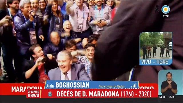 Boghossian : «Maradona hantait toutes les rues de Naples» - Foot - Décès