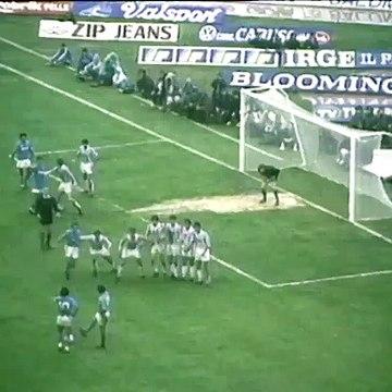 Le coup franc monstrueux de Maradona contre la Juventus