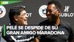 'Un día jugaremos juntos en el cielo': Pelé tras la muerte de Maradona