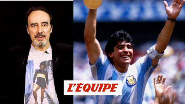 Roustan : «C'était un révolté» - Foot - Maradona