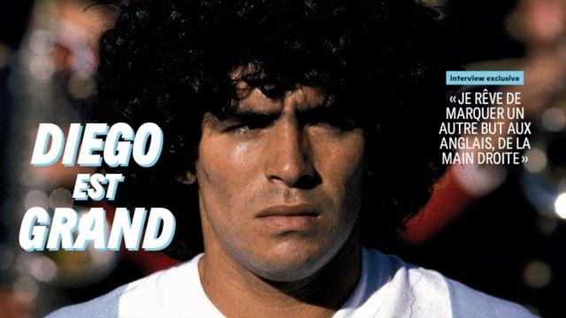 Les dessous de la dernière interview de Diego Maradona à France Football - Foot - Maradona