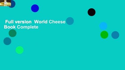 Full version  World Cheese Book Complete