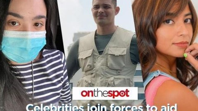 On the Spot: Celebrities join forces to aid Typhoon Rolly and Ulysses victims