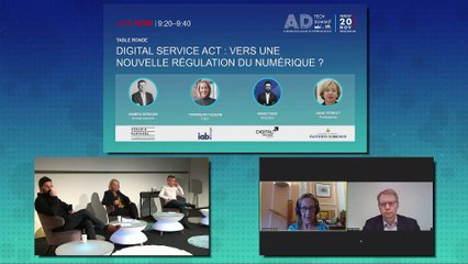 IAB ADTECH SUMMIT 20 - Table Ronde - DIGITAL SERVICE ACT