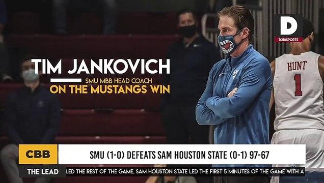 SMU (1-0) Defeats Sam Houston State (0-1) 97-67