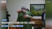 Maradona, il legame con Fidel Castro