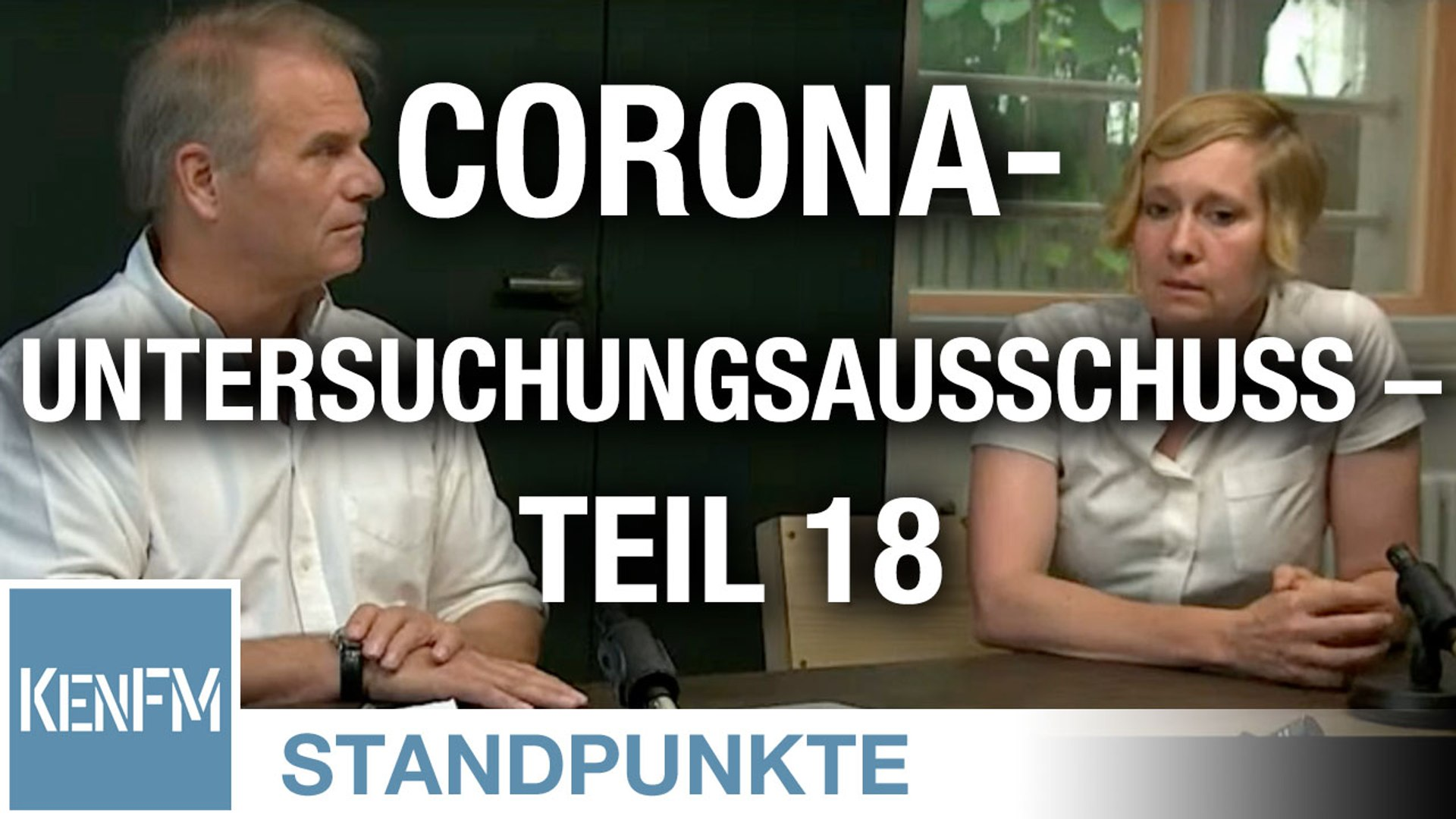 Corona-Untersuchungsausschuss – Teil 18 | Von Jochen Mitschka