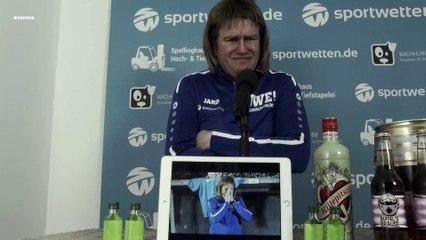 Die Pressekonferenz mit Kreisligatrainer Uwe!