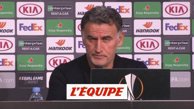 Galtier : «On est là, on prend des points» - Foot - C3 - Lille